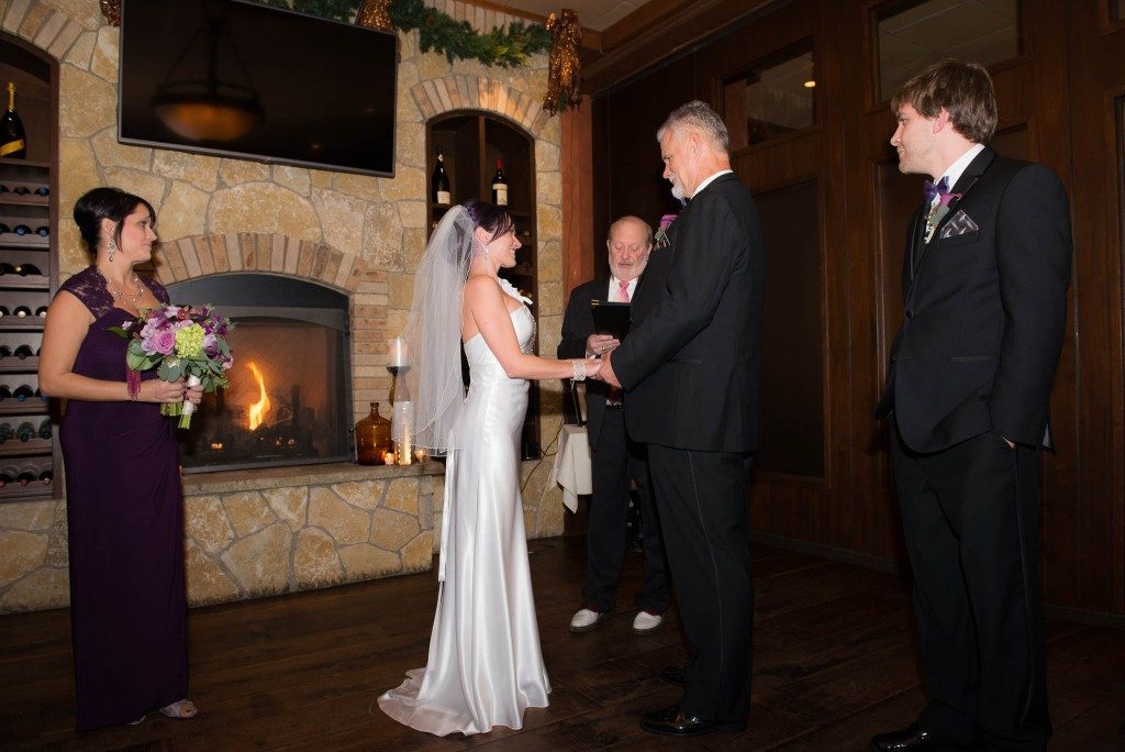 wedding ceremony in Salem NH
