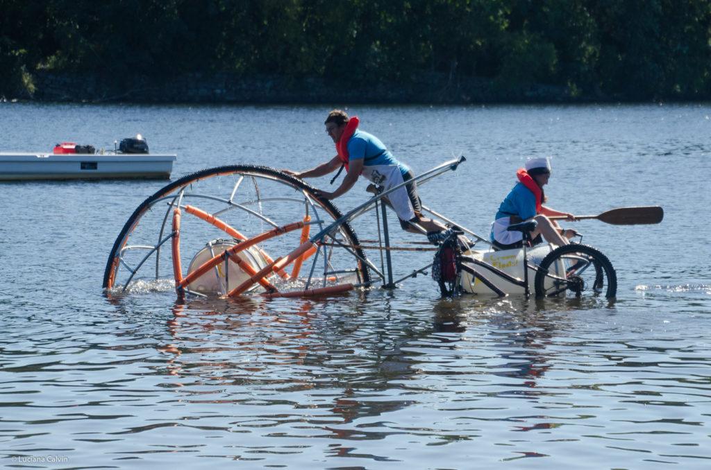 Kinetic water Race in Lowell