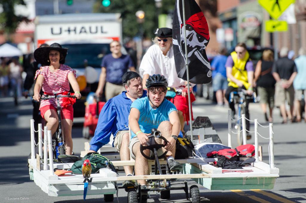 Kinetic Race in downtown Lowell