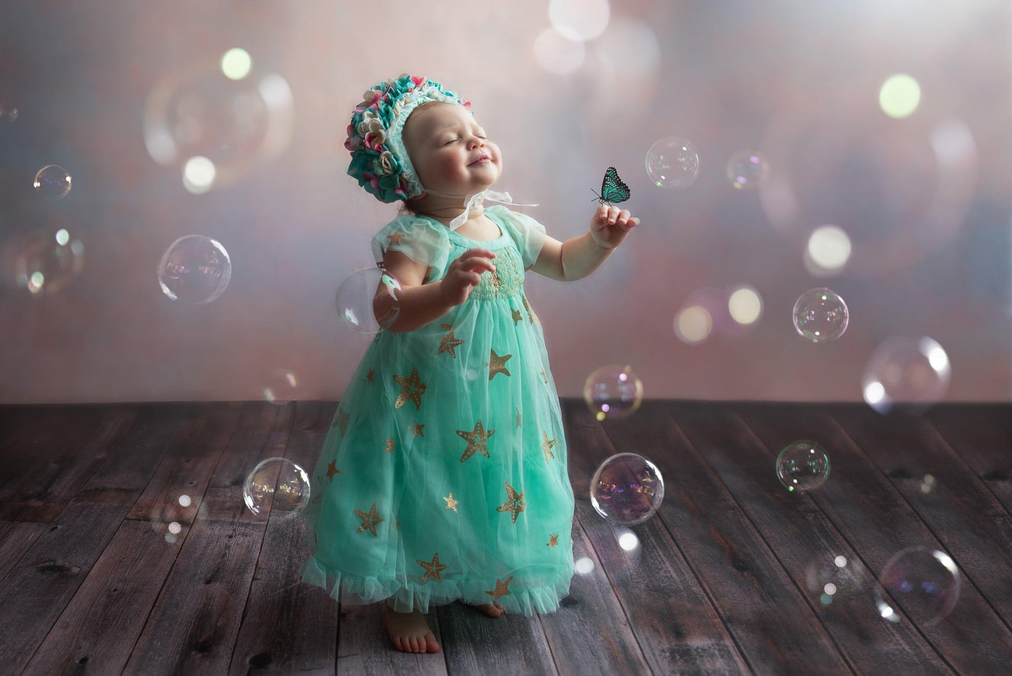 Sweet Bubbly Baby Emilia